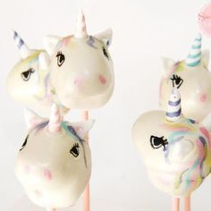 Unicorn cake pops by Sweet Little Bakery- Too gorgeous to eat