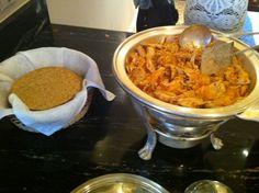 Tinga de Polla with handmade tostadas from : http://unasenoritagourmet.wordpress.com/ tostada
