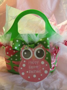 What a cute Easter/gift basket!