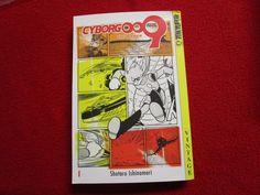 Cyborg 009 Volume #1 Tokyopop Vintage Manga Anime naruto comic book books