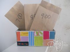 New Years Eve Each hour during the evening of New Years Eve, let your kids open one bag labeled with that hour! Inside is a fun activity to keep them excited- cute and simple ideas at this post! Ends at midnight with glow sticks!