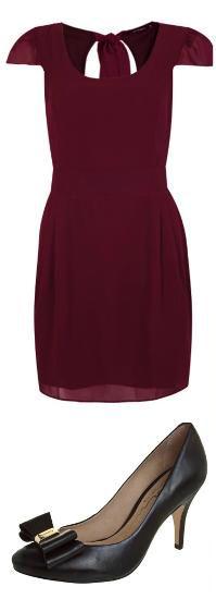 traje esporte fino feminino vestido burgundy