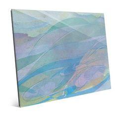 "Click Wall Art 'Ocean Maelstrom' Painting Print Size: 8"" H x 10"" W x 1"" D"