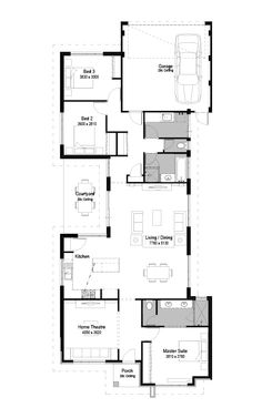 Apartment floor plan buscar con google home office for Trademark quality homes floor plans