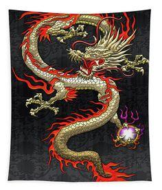 Chinese Dragon Drawing, Chinese Dragon Tattoos, Japanese Dragon, Chinese Art, Japanese Art, Red Chinese Dragon, Dragon Images, Dragon Pictures, Feng Shui Wall Art