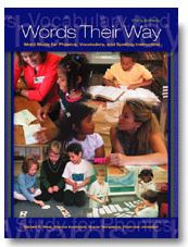website with link and directions to access the Words Their Way website