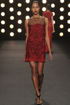 Something I could see owning and wearing, very practical! - Naeem Khan | Fall 2014 Ready-to-Wear Collection | Style.com #NYFW
