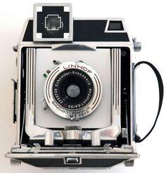Linhof Baby Super Technika: Vintage camera 2x3 Linhof Baby Super Technika. vintage film camera. early 1950s field camera