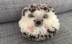 #hedgehog #needlefelt #pompoms #handmade   https://m.facebook.com/whatktdidnextMCR/