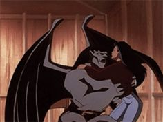 Goliath & Elisa from Disney's Gargoyles