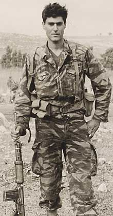 Uri Geller as a Paratrooper.