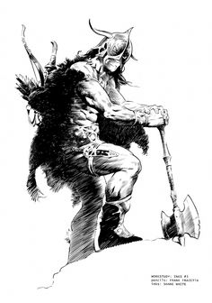Frank Frazetta: Warrior Comic Art