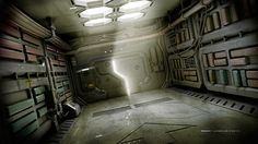 Corridor. Done in Modo801, Photoshop. Reggy Langkun © 2014