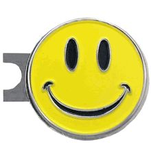 This Happy Face ball marker comes on a standard hat clip. Money Clips 5e3fdd621b20