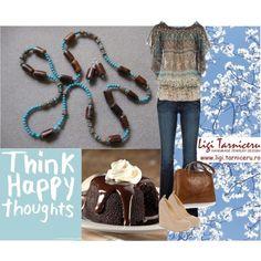 """Think happy thoughts"" by ligi-tarniceru on Polyvore"