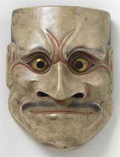 Noh mask of Beshimi