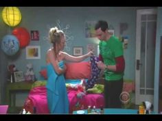 Super Sheldon Comes to Penny's Rescue @YouTube
