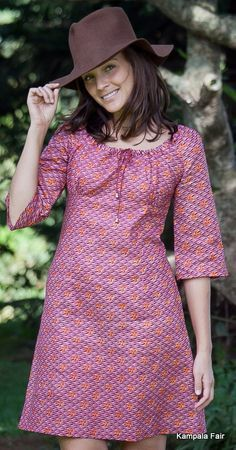 Gorgeous ethical fashion and interior design made with African Print Fabric. African Fashion Ankara, Latest African Fashion Dresses, African Print Fashion, Short African Dresses, African Print Dresses, Moda Afro, Shweshwe Dresses, African Traditional Dresses, Moda Chic