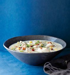 Just made this for dinner and it was amazing! And (relatively) healthy! Summer Corn and Cod Chowder: Recipes: Self.com