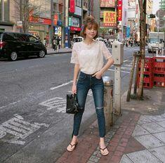Nyc Girl, Uzzlang Girl, Ulzzang Fashion, Korean Fashion, Ulzzang Style, Cute Korean Girl, Asian Girl, Daily Fashion, Girl Fashion