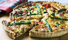 Loaded with vegetables and taste. Tenderflake Lard makes the world's best tart shell. Load it with fluffy eggs, cream and all your favourite seasonal veggies. A brunch star!
