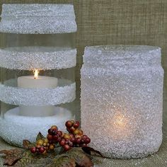 Holiday Collection 5 Categories of Ideas Using Household Items like Colanders, Epsom Salt, Cinnamon Sticks, Faux Snow & Wine Glasses! Home Crafts, Diy And Crafts, Crafts For Kids, Halloween Decorations, Christmas Decorations, Holiday Decor, White Christmas, Christmas Diy, Holiday Candles