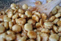 Cinnamon Sugar Oyster Crackers