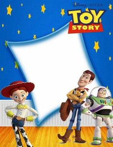 Toy Story Invitations - 30 Lovely Ideas to Delight Guests! - Toy Story Invitations – 30 Lovely Ideas to Delight Guests! Toy Story 3, Bolo Toy Story, Toy Story Theme, Toy Story Cakes, Toy Story Party, Toy Story Birthday, Baby Birthday, Imprimibles Toy Story, Birthday