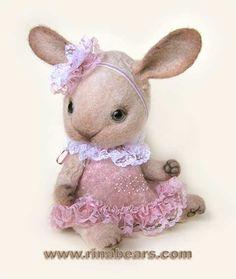 【rinabears】Флоранс ♥ Felt Wool Doll