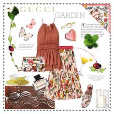 """""""Gucci Garden"""" by rever-de-paris ❤ liked on Polyvore featuring Wedgwood, Entanglements, Gucci, H&M, Lazy Susan, garden, gucci, contestentry and polyvoreeditorial"""