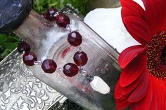 ❥ red beads