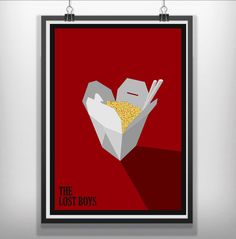 #thelostboys the lost boys minimalist movie poster