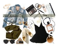 """""""Last minute packing!"""" by iiannanasii ❤ liked on Polyvore featuring Borghese, HAMNETT, Monki, STOW, Christian Dior and Kate Spade"""