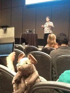Joy Zabala in the SETT session on 24th May 2012