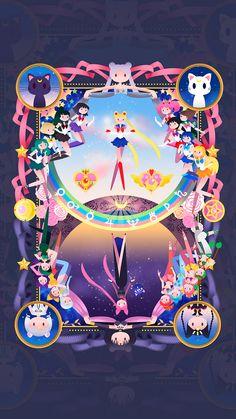 25 Wallpapers de Sailor Moon pra você transformar o seu celular em nome da lua » MONSTERBOX