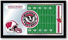 Wisconsin Badgers Football Team Sports Mirror at SportsFansPlus.com. Visit website for details!