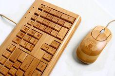 bamboo keyboard + mouse