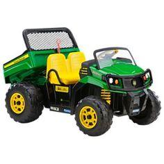 Peg-Perego John Deere Gator XUV 550 Battery-Powered Vehicle for Kids