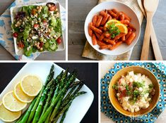 4 Side dishes for your Easter dinner