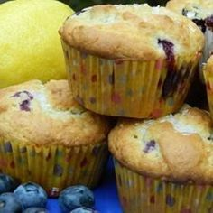 Chef John's Blueberry Muffins Thompson Healy Perfect for our Fresh blueberries! Zucchini Chocolate Chip Muffins, Blueberry Oatmeal Muffins, Applesauce Muffins, Blue Berry Muffins, Zucchini Muffins, Chocolate Chips, Chef John Recipes, Cooking Recipes, Cooking Bacon