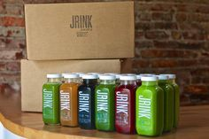 In Dupont Circle, JRINK Juicery whips up all-natural, cold-press juices with five pounds of fruits and vegetables per 16-ounce glass bottle. The second-floor juice bar offers make-your-own six-packs from $50 with 14 flavors to choose from, including blends of orange, carrot, and grapefruit with ginger or spinach, kale, raw almonds, cinnamon, and vanilla with agave.  Photo: Courtesy of JRINK