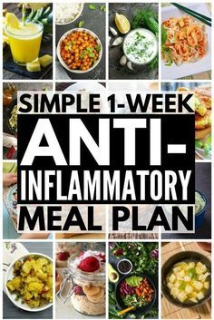 7-Day Anti-Inflammatory Diet for Beginners   Looking for an anti-inflammatory meal plan to help boost your immune system, keep your autoimmune disease under control & aid in weight loss? This 7-day meal plan for beginners includes anti-inflammatory recipes & a list of anti-inflammatory foods. With delicious breakfast, lunch, dinner & snack recipes, combatting arthritis & chronic pain has never tasted better. #antiinflammatory #antiinflammatorydiet #antiinflammatoryfoods…