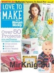 Love to make with Woman's Weekly May 2015