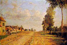 Camille Pissarro, Strada a Rocquencourt