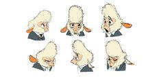 Mais personagens na galeria de Zootopia, por Shiyoon Kim   THECAB - The Concept Art Blog