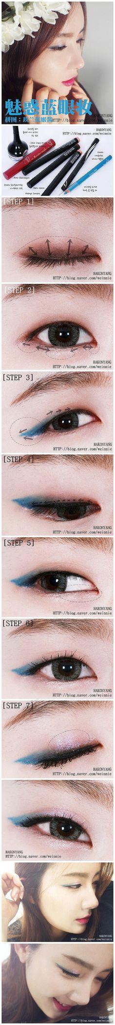 #고급스러운레이디기업가  #ClassyLadyEntrepreneur  Monolid eyeshadow tutorial.    ✨www.SkincareInKorea.info ✨www.DebbieKrug.org