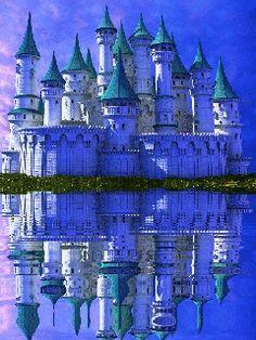 Medieval Anime Castle Gif 31