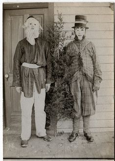 1911 photograph.  i'm guessing this is what christmas in hell looks like