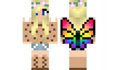 minecraft skin flower-fairy-and-cookie-girl-for-hot_cookiez Find it with our new Android Minecraft Skins App: https://play.google.com/store/apps/details?id=the.gecko.girlskins