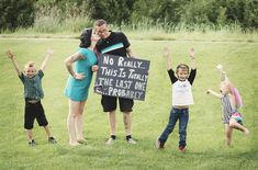 Probably the last one... maybe. BABY! Announcing our 4th baby on the way!